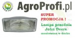 Lampa halogen do John Deere
